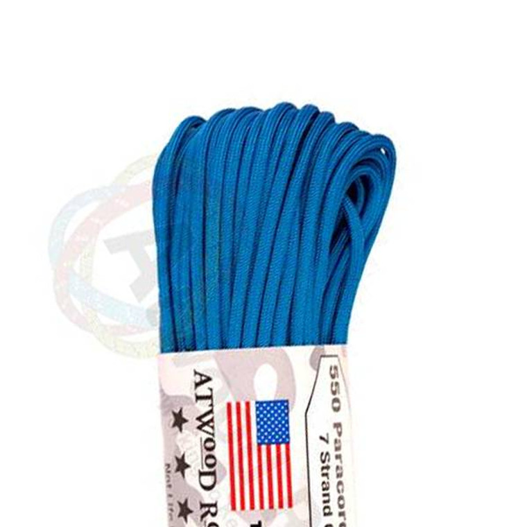 Atwood Rope MFG 550 Paracord 100ft - Blue