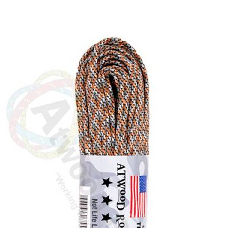 Atwood Rope MFG 550 Paracord 100ft - Spy