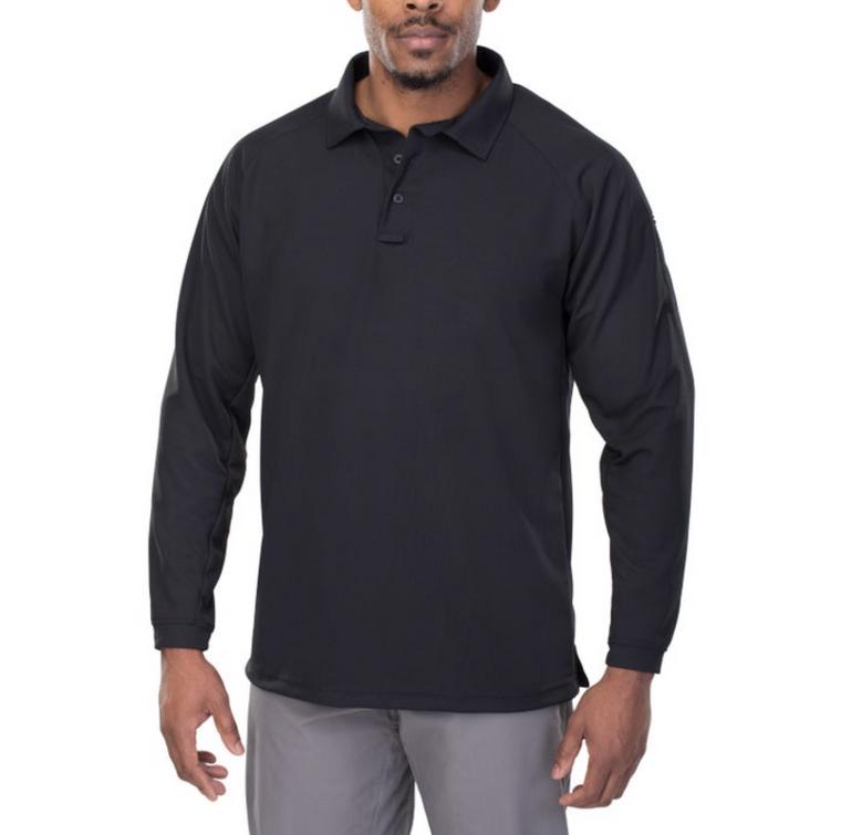 Vertx Coldblack Men's Polo - Long Sleeve