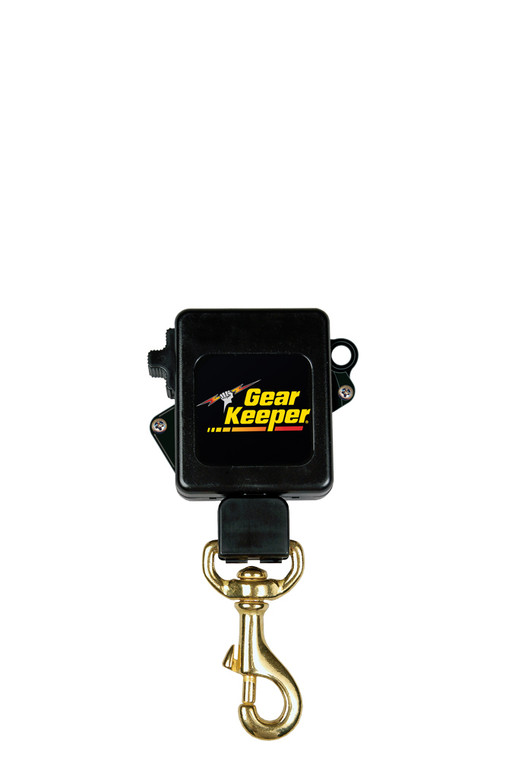 Gear Keeper Security Key Retractor - Clamp-On Rotating Belt Clip