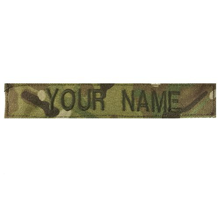 DS Tactical Custom Embroidered Name Tape