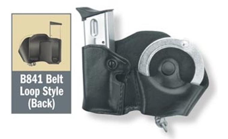 Gould & Goodrich Cuff Case/Mag Case Combo - Belt Loop
