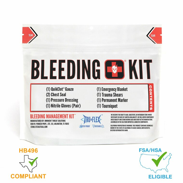 Imminent Threat Solutions ITS Bleeding Management Kit (C-A-T)