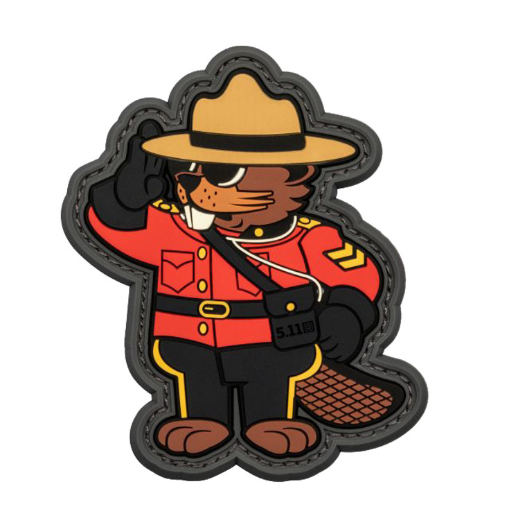 5.11 Tactical Beaver Mountie Patch