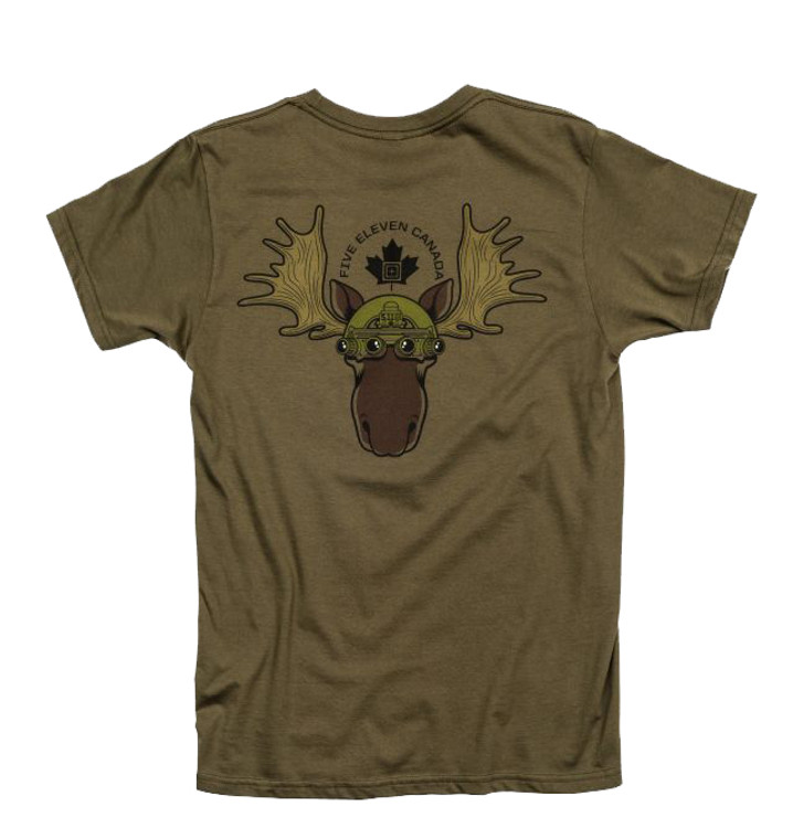 5.11 Tactical Canada Night Vision Moose S/S T-Shirt