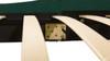 Aspen Upholstered Platform Bed, Queen, Evergreen