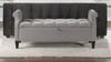 Jacqueline Flip Top Tufted Roll Arm Storage Bench