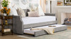 Kirk Upholstered Trundle Daybed