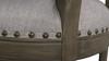 "Paris 26"" Farmhouse Counter Height Bar Stool with Backrest, Light Heathered Grey"