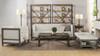 """Sylvan 81"""" Tuxedo Sofa, Wood Base, Natural White"""