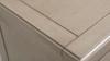 Dauphin Handpainted Entryway Storage Cabinet, Grey Cashmere