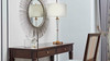"""15"""" Laon Crystal Accent Table Lamp"""