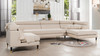 Hayes RAF 3 Piece Modular Sectional Chaise Sofa