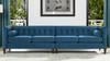 "Jack 118"" Modern Tuxedo Tufted Long Modular Sofa"