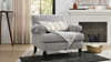 Alana Lawson Chair, Silver Grey