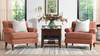 Alana Lawson Chair, Peach Orange