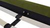 Aspen Upholstered Platform Bed, King, Olive Green