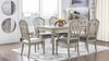 "Dauphin 71"" Rectangular 6-Seater Dining Table, Grey Cashmere"