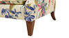 Anya Arm Chair, Bright Beige Tropical Floral