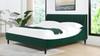 Aspen Upholstered Platform Bed, California King, Evergreen