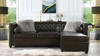"""Jack 100"""" Tuxedo Sectional with Reversible Chaise and Storage"""