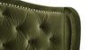 Marcella Upholstered Shelter Headboard Bed Set, Queen, Olive Green Performance Velvet