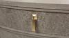 """Vegas 23.5"""" 2-Drawer Storage End Table, Weathered Oak Veneer & Birchwood"""