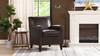 Cole Accent Club Arm Chair, Vintage Brown