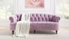 La Rosa Chesterfield Sofa, Lavender