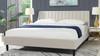 Aspen Vertical Tufted Headboard Platform Bed Set, King, French Beige