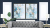 Escape 1 50x38 Abstract One-of-a-Kind Original Art Oil Painting with Frame
