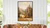 Golden Aspen 2 50x38 Framed Abstract Landscape Giclee Art Print