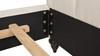 Nautlius King Bed Frame with Headboard & Footboard, Light Beige Linen