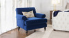 Alana Lawson Chair, Navy Blue