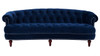 La Rosa Chesterfield Sofa, Navy Blue