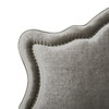 Legacy Upholstered Headboard, Grey (King Size)