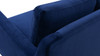 Serena Lawson Sofa, Navy Blue