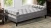 Robert Tufted Sofa Bed, Opal Grey