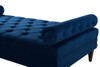 Robert Tufted Sofa Bed, Navy Blue