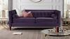 Jack Tuxedo Sofa, Purple