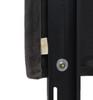 Kaye Tufted Headboard, Dark Charcoal Grey (Queen Size)