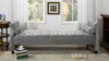 Eliza Upholstered Sofa Bed, Opal Grey