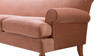 Alana Lawson Sofa, Peach Orange