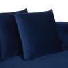 Jasmine Chesterfield Sofa, Navy Blue