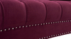 La Rosa Chesterfield Sofa, Burgundy