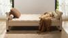 Eliza Upholstered Sofa Bed, Beige
