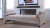 Eliza Upholstered Sofa Bed, Light Grey