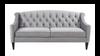 """Ken 75"""" Velvet Sofa"""