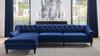 "Alexandra 132"" Tufted Sectional Sofa"