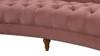 La Rosa Chesterfield Sofa, Ash Rose